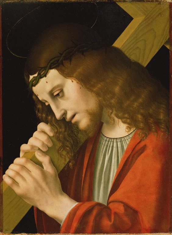 Christ carrying the Cross: attributed to Marco d'Oggiono, c. 1467–1524