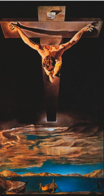 Christ of St John of the Cross 1951 Salvador Dali