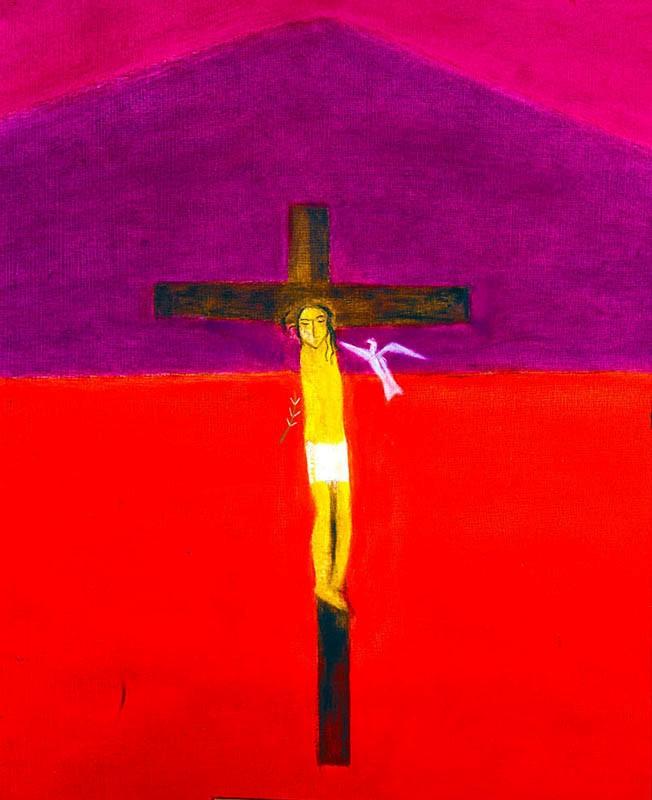 Crucifixion 7 Craigie Aitchison