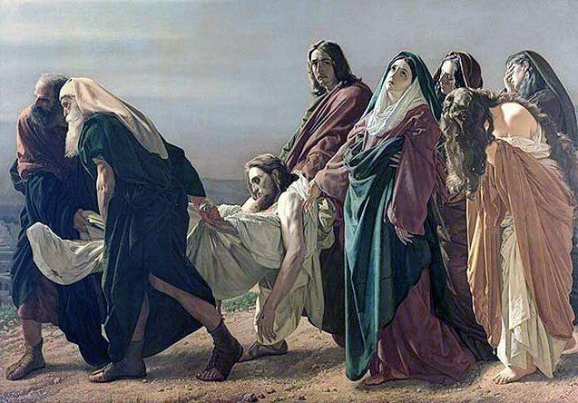 The Entombment Antonio Ciseri 1883