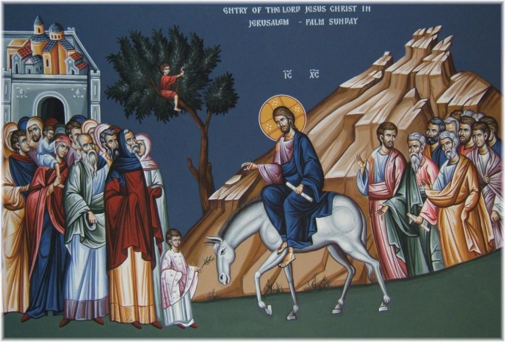 Entry into Jerusalem Giotto Scrovegni
