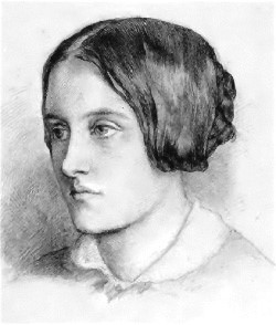 A drawing by her brother Dante